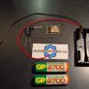 ESP8266 12E WIFI sensor på Batteri