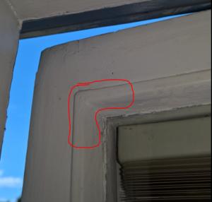 AeoTech montering mot fönster