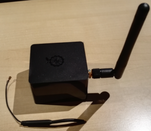 External wifi antenna on Orange Pi Zero with Chassi