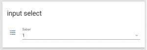 """För att i framtiden styra verans Larm med HA kommer jag nyttja en """"input Select"""""""