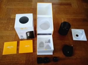 Följande komponenter igår med Somfy One.