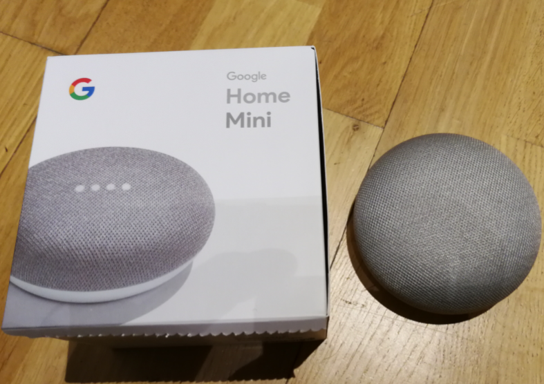 Ljudassistenten Google Home Mini introduceras i min hemautomation