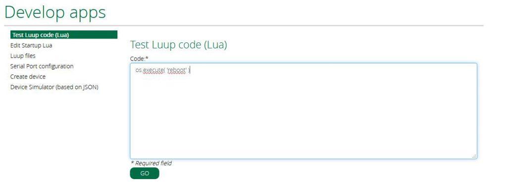 Med hjälp av Luup startade jag om vera.