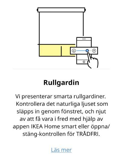 Snart släpps IKEA:S nya rullgardin till Trådfri