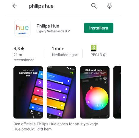 Ladda hem Appen Philips Hue