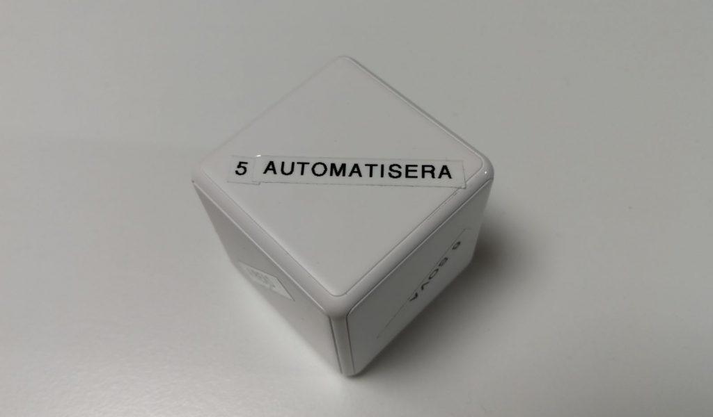 Xiaomi Aqara Cube Automatiserar
