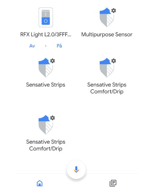 SmartThings och Google Assistant