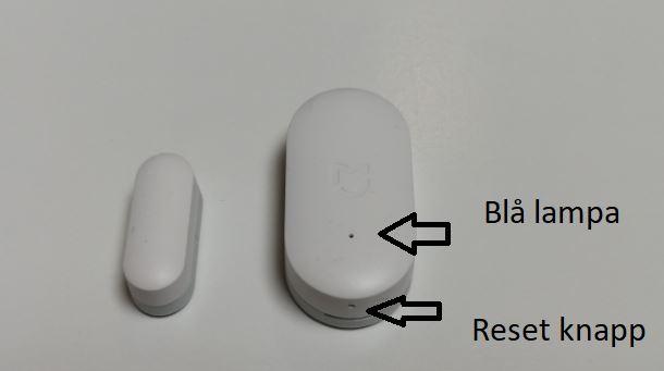 Xiaomi Mi Door Sensor with Homey