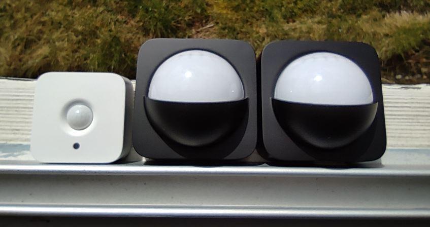 Skillnaden i skala mellan Hue motion sensor och Hue motion sensor outdoor är enorm (i lux)