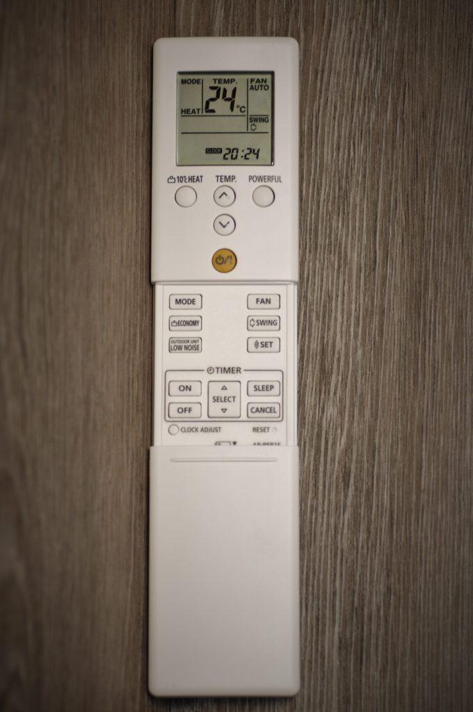 Fujitsu 12 km SLIM remote